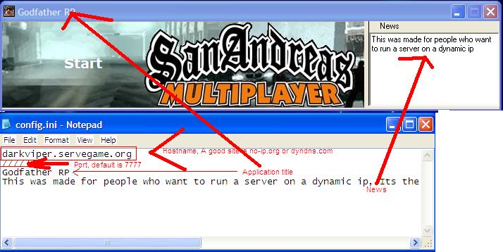Как создать свой сервер в samp 03 в - Walton